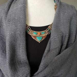 New handwoven export quality scarf